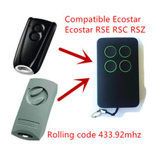 2pcs Garage Door Remote Control Compatible with Hormann Ecostar RSE2 Handsender 433 Mhz rolling code free shipping