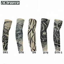 UV Protective Arm Sleeves Cycling Arm Warmers MTB Outdoor Sport Basketball Baseball ArmSleeve Outfit Armbands manguitos ciclismo(China)
