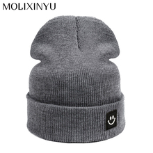 MOLIXINYU 2017 New Fashion Children Cap For Girls Cap Skullies Beanies Baby Cap For Boys Hat Kids Winter Baby Hats For Children(China)