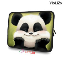 panda Laptop Bag Tablet case Notebook sleeve 7 9.7 11.6 13.3 14 15.6 17 17.3 protective Case For DELL Asus HP Acer NS-151128(China)