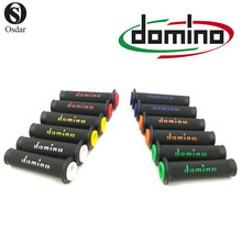 DOMINO Universal Rubber Handlebar Grips of MOTO GP Dual Compound Pit Dirt Bike Motocross Motorcycle Street Enduro MX