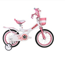 Royalbaby Jenny princess girl's bike,12 and 14 inch,with patented group basket,saddle and brake(China)