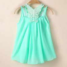 Girls Infant Cotton Clothing Dress Summer Clothes Printed Embroidery Girl Kids Dress