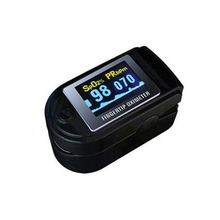 with color box packing fingertip pulse oximeter spo2 monitor pulse oximeter module CMS 50D SPO2 and pulse rate(China)