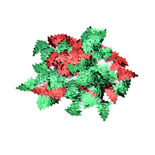 Wholesale High Quality 200pcs/pack Merry Christmas Red Table Scatter Confettis Party Venue Christmas Trees Decors