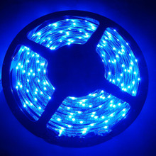 335SMD LED Strip Side emitting 5M 600 leds 120Leds/M SMD Light Side view Waterproof IP65 12VDC club stair/cabinet-5 color option(China)