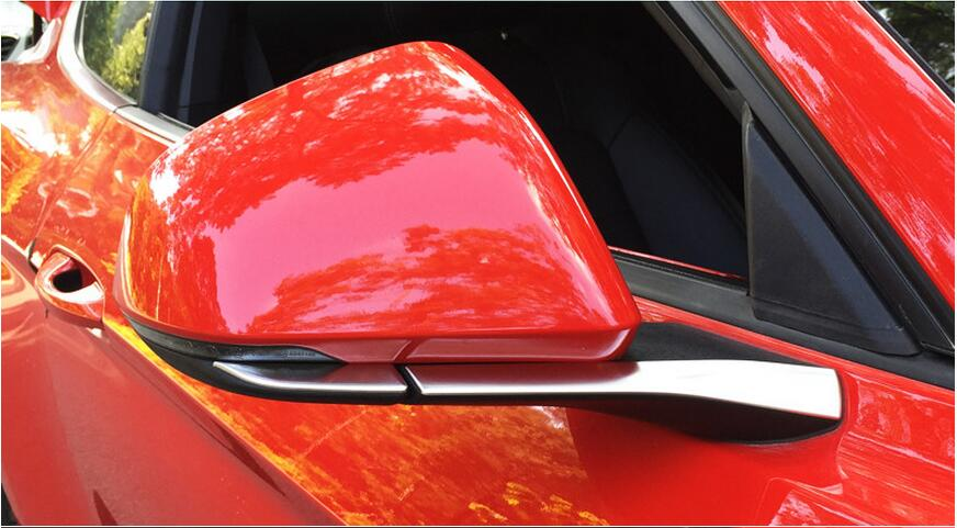side mirror trim for Ford Mustang car accessories (5)