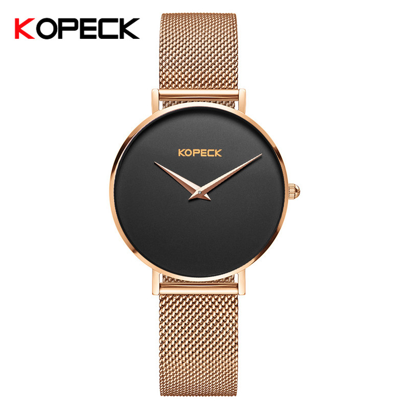 KOPECK Quartz Watches Men Top Brand Luxury Man Clock Bracelet Milan Mesh Sapphire Glass Watch Male Wristwatch Relogio Masculino<br>