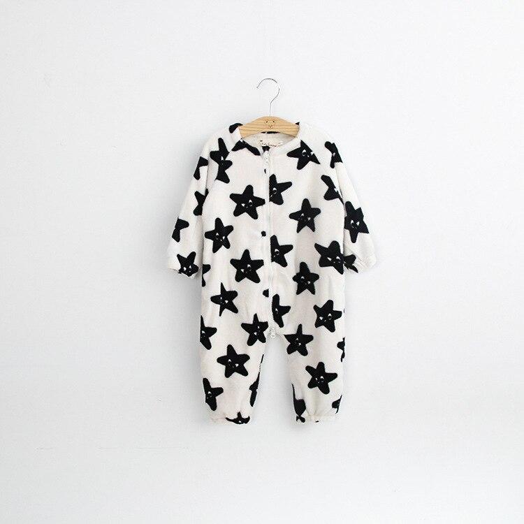 Children Girls Flannel Camouflage Romper Leopard Boys Pajamas Kids Star Romper Sleepwear Winter Jumpsuit Clothes Infant Baby Boy<br><br>Aliexpress