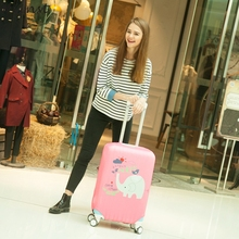 HIINST Happy Gift 1 Pcs Luggage Cover Luggage Cover 18-20 Inches Elastic Nonwoven Dust-Proof Travel Bag Suitcase Cover