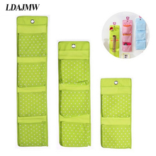 LDAJMW Multi-Grid Socks Shoe Toy Underwear slippers Glasses Keys Sorting Storage Mails Bag Door Wall Hanging Closet Organizers(China)