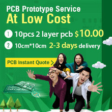 PCB Prototype 2 layers PCB Board Supplier Sample Production ,Small Quantity Fast Run Service pcb board