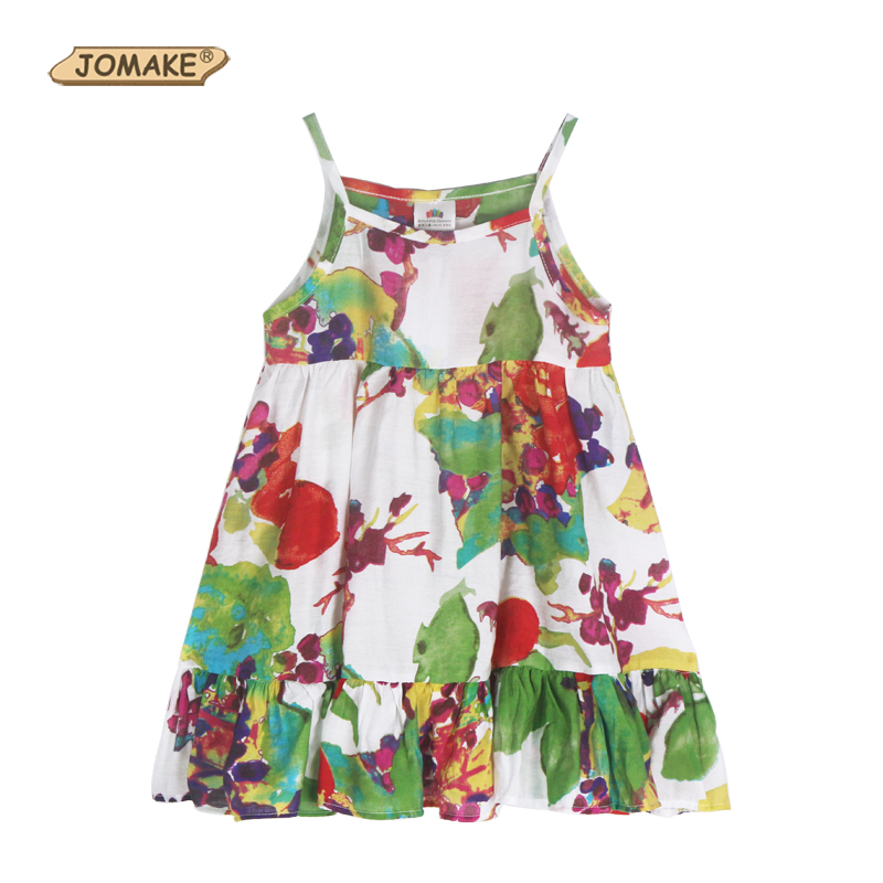 New Fantasy Summer Girl Dress Floral Kids Bohemian Dresses For Girls Clothes Fashion Cotton Party Pageant Casual Girls Clothing<br><br>Aliexpress
