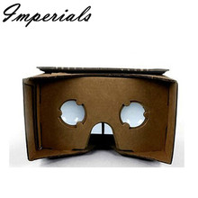 XPF DIY Cardboard & Resin LensQuality 3D Vr Virtual Reality Glasses For Google Compatible With 4-7 Inch Screen CellPhone 2