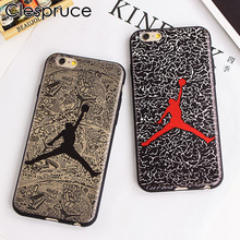 Clespruce Super NBA Super Star Jordan Soft Cases for iPhone X 8 7 6 6S plus 5 SE TPU soft Mobile Accessories Covers Fundas Movil(China)