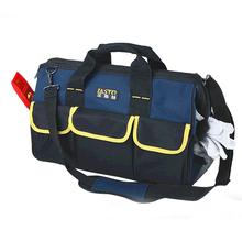 "High Quality 20"" oxford cotton 19 Pocket Multifunction Tool Bag Large Capacity Professional Repair Tools Bag Messenger Bag"