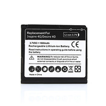 High Quality 3.7V 1600mAh Replacement Phone Battery for HTC Desire HD G10 Inspire 4G Ace BD26100 A9191 T8788 Battery Bateria(China)