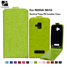 TAOYUNXI Cover For Microsoft Nokia Lumia 610 N610 3.7 Inch Business Style Flip PU Leather Case Phone Cover With Magnetic