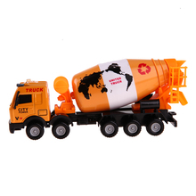 1:43 Engineering Alloy Roller Environmental Truck Garbage Truck Cars Transport Vehicle Metal Model Car Toys For Children Gift(China)