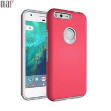 Google pixel Case Cover Armor 3D smartphone Hybrid Shockproof plastic Phone Cases for Google pixel pixel XL Back Cover Luxury