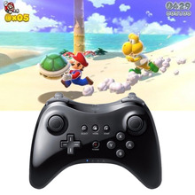 Classic bluetooth wireless gamepad controller joystick for For Nintendo wii u pro game remote console wiiu Upgraded version(China)