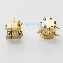 New Dentist  Hexagonal Water Air Valve for Dental Chair Unit Parts Device 2pcs