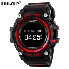 Buy FREZEN T1 Smart Sport Watch OLED Display Heart Rate Monitor IP68 Waterproof Push Message Call Reminder Android IOS Phone for $27.92 in AliExpress store