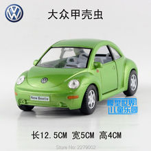 KINSMART Die Cast Metal Models/1:32 Scale/Volkswagen New Beetle toys/for children's gifts or for collections