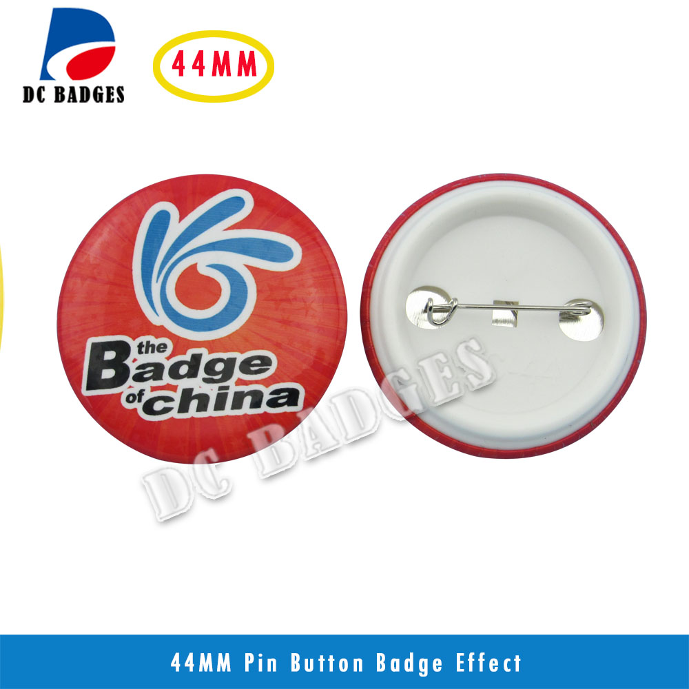 Good Quality 1-3/4 44mm 1000sets  Plastic Pin Badge Material,Blank button parts,Tin badge components Supplier<br><br>Aliexpress