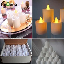 Flameless Candles Christmas LED TeaLight Unscented  Operated Flickering Tealights Candles for Seasonal & Festival Celebration