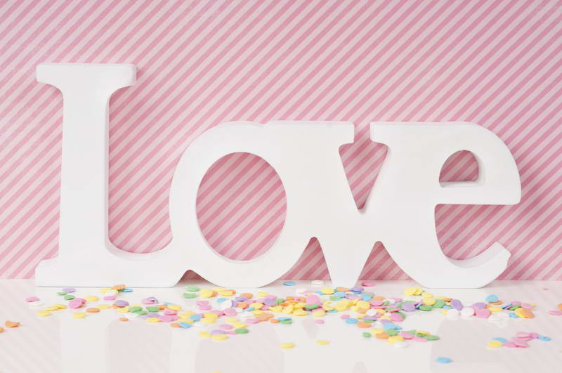 Candy Love Valentines Day backdrop High-grade Vinyl cloth Computer printed wall photography studio background<br><br>Aliexpress
