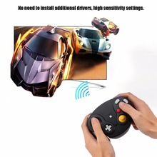 1pcs Wireless Bluetooth Wifi 2.4GHz Gamepad Portable 10M Gaming Gamer Controller Joystick For Wii for Nintendo GameCube N GC(China)