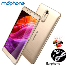 LEAGOO M8 Smartphone 3G 5.7inch IPS Screen 1280*720pixel MTK6580A Quad Core 2GB+16GB 3500mAh Battery Fingerprint ID Mobile Phone
