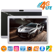 Big Discount 10 inch tablet Octa Core 4GB RAM 32GB ROM 4G FDD LTE 1920x1200 IPS 8.0MP Dual SIM Card Tablet PC 10.1 Free Shipping(China)