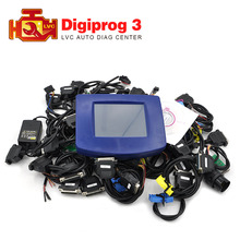 2018 Newest Digiprog 3 V4.94 Odometer Programmer Digiprog III full set obd adapters mileage Correction tool digiprog3 DHL free(China)