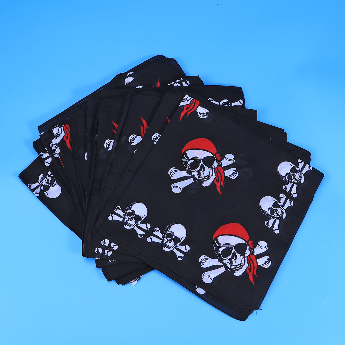 Grey Accessories For Boys Skull Print Hanky Boys Accessories Skull Hanky