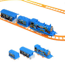 Electric Thomas Friends Train Railway Track Running DIY Set Intelligent Toy Fun For All AGES Gift Collection Free Shipping(China)