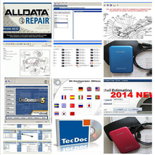 Alldata Newest version All data V10.53 and Mitchell car repair data software with 1TB hdd Hard Disk best price