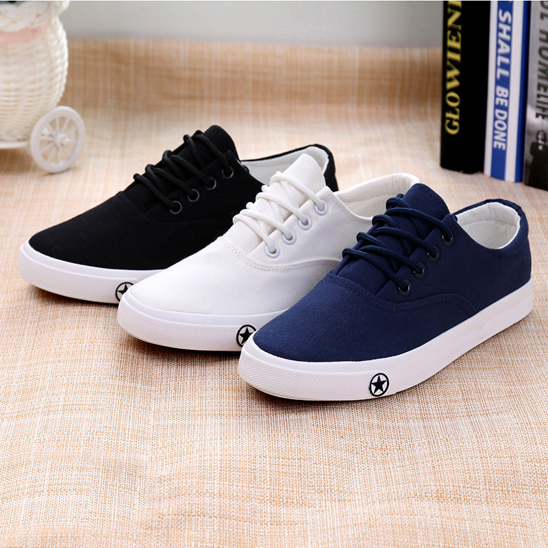 2017 explosion models Korean Women canvas Shoes to help low autumn New heavy-bottomed Shoes Casual shoes white students<br><br>Aliexpress
