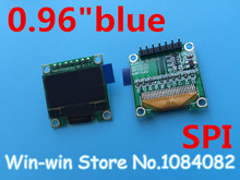 "1pcs 0.96""blue 0.96 inch OLED module  New 128X64 OLED LCD LED Display Module For Arduino 0.96""  SPI Communicate"