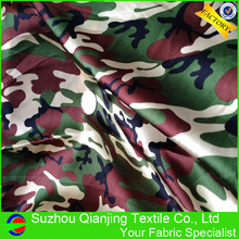Good reputation factory price spandex satin camouflage fabric