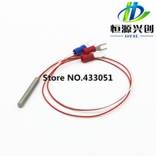 Three wire precision platinum resistance temperature probe PT100 / PT1000 thermocouple, Free Shipping