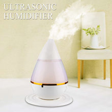 200ml 2W Ultrasonic Aroma Humidifier Air Essential Oil Diffuser Smart Home with LED Light Purifier Atomizer Refresher for Home