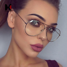 SHAUNA Classic Women Glasses Frame Brand Designer Fashion Men Polit Alloy Eyeglasses