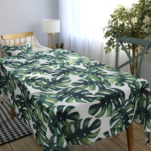 Hot Table cloth Clothes Linen Fabric Grey Tableclothes Wedding Party Decoration Printed Coffee Dinner Tables Covers tablecloth(China)