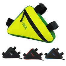 1Pc Cycling Bike Bycicle Bags Frame Pack Pannier Front Tube Triangle Bag Pouch 4Colors Available