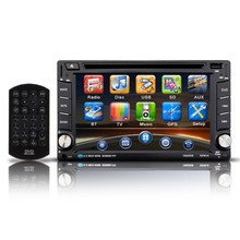 2 Din Car DVD Player 6.2 inch HD In Dash Touch Screen Bluetooth Car Player Support DVD /VCD/CD/MP3/MP4/FM