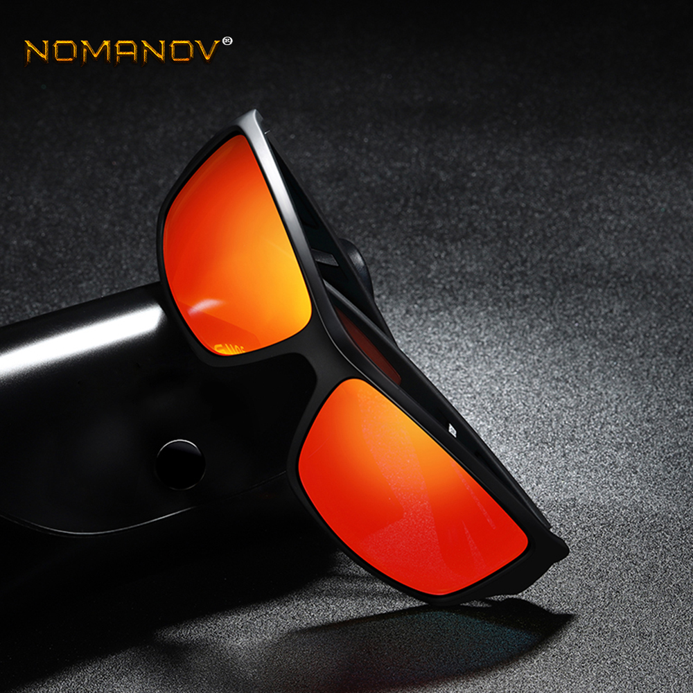 TR90 Sports Sun Glasses Polarized Mirror Sunglasses red/ blue/  Night vision Custom Made Myopia Minus Prescription Lens -1 to -6
