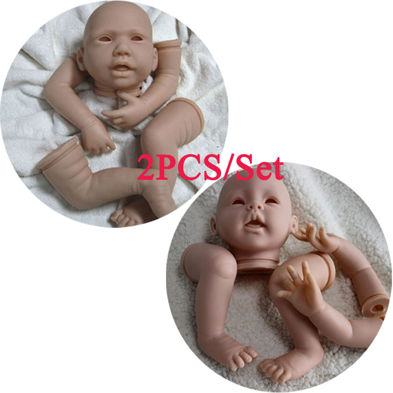 20inch Kits#DK-14 Doll Kit DIY Model Simulation Toys Reborn Baby Doll 50cm Simulation Silicone Reborn Doll Kit Accessories<br><br>Aliexpress