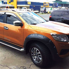 2014-2017 For Nissan Navara Frontier Mudguard Fender Flares Pocket Rivet Style Suitable Nissan Navara Frontier Np300 D23 Parts